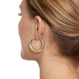 La PORTOFINO Gold Piccolo Hoops