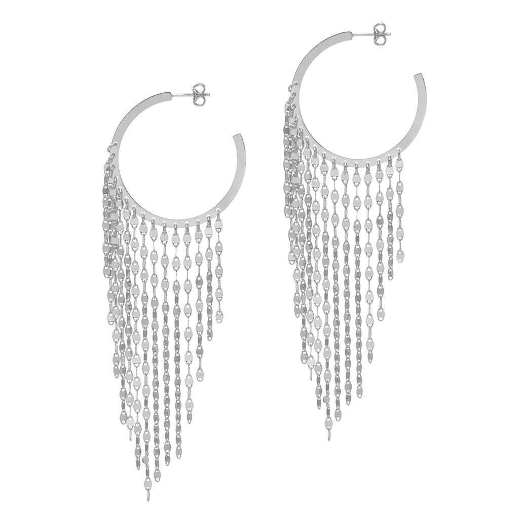 La CASCADA Drop Large Silver - SALE - Georgiana Scott Jewellery
