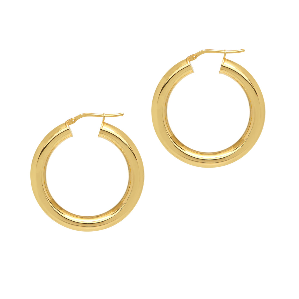 La CURVACEOUS Hoops - Gold - 6 x Diameters - Georgiana Scott Jewellery