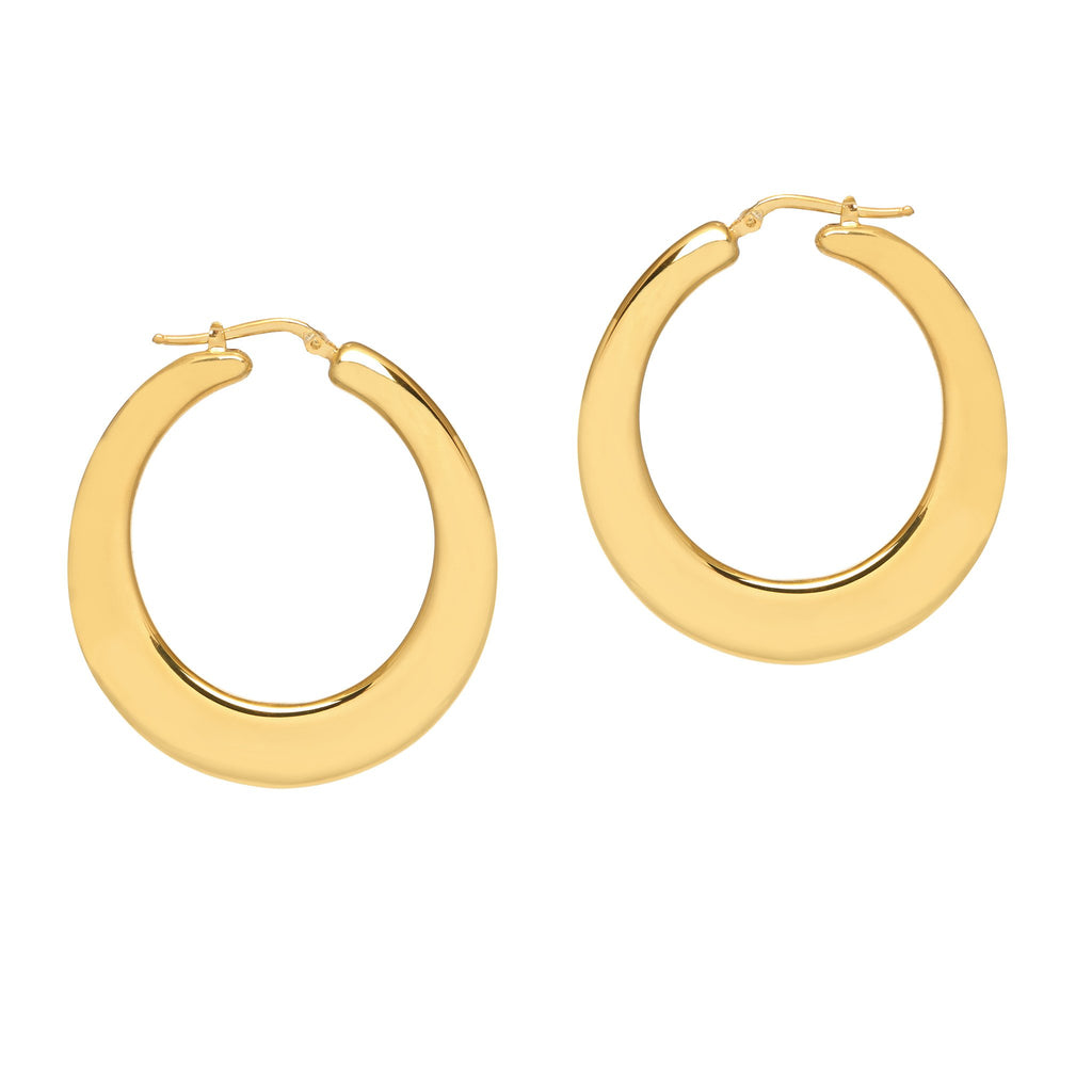 La SATIN & SHINY Ovals - Georgiana Scott Jewellery