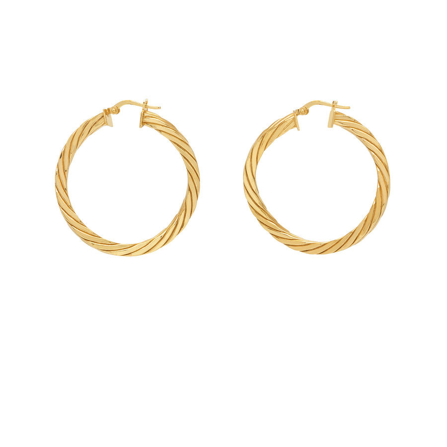 La CANDY TWIST Hoops Gold
