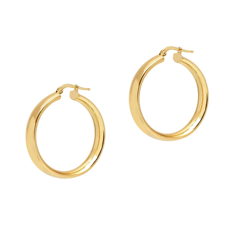 La SHINY CUFFS Hoops - Gold