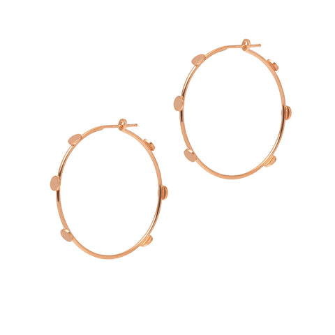 La DISCO Hoops Rosegold - 2 x sizes