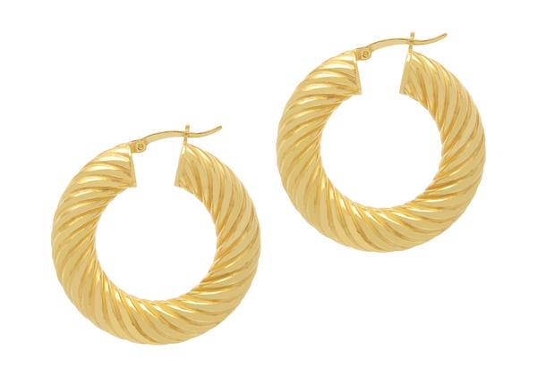 La SIRENA SWIRLS - Gold (New size) - Georgiana Scott Jewellery