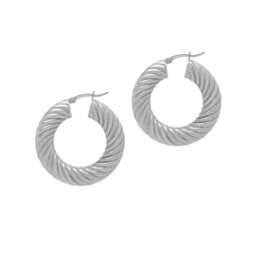 La SIRENA SWIRLS - Silver - Georgiana Scott Jewellery
