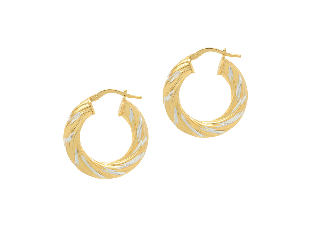 La SWIRLS - Gold - Georgiana Scott Jewellery