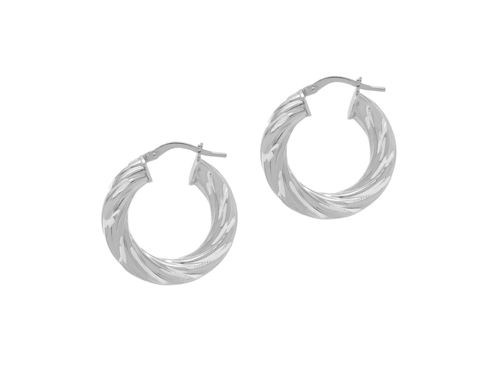 La D-CUT SWIRLS - Silver - Georgiana Scott Jewellery