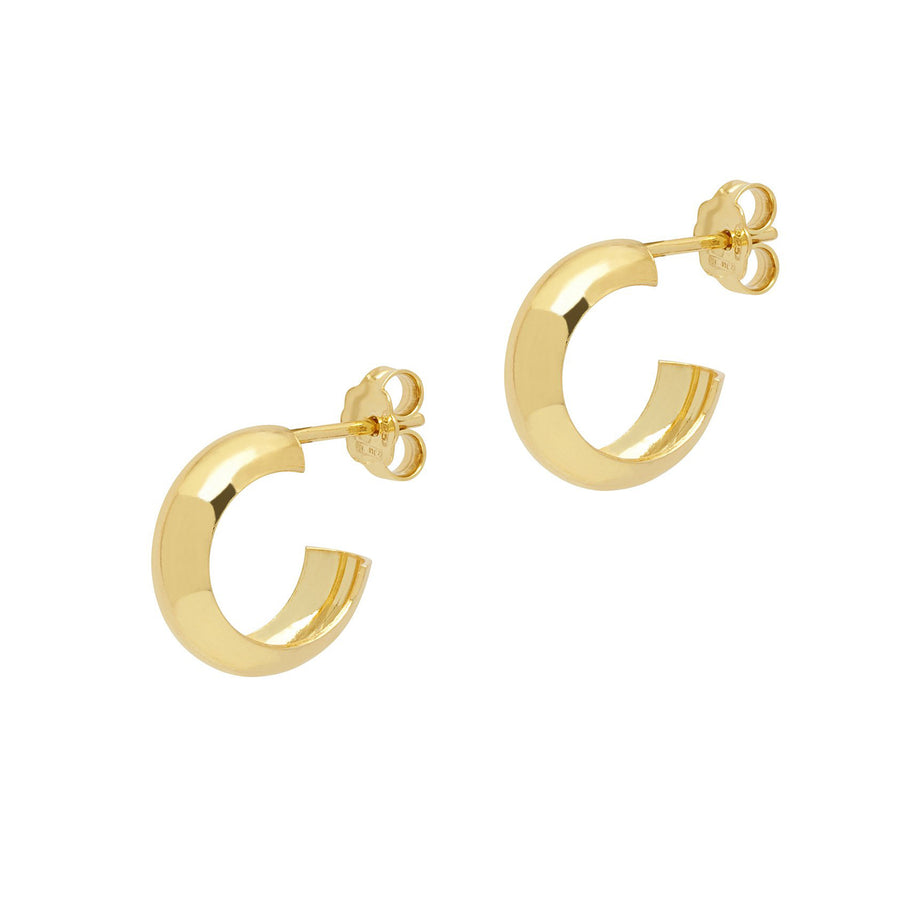 La CURVA Huggies - Gold - Georgiana Scott Jewellery