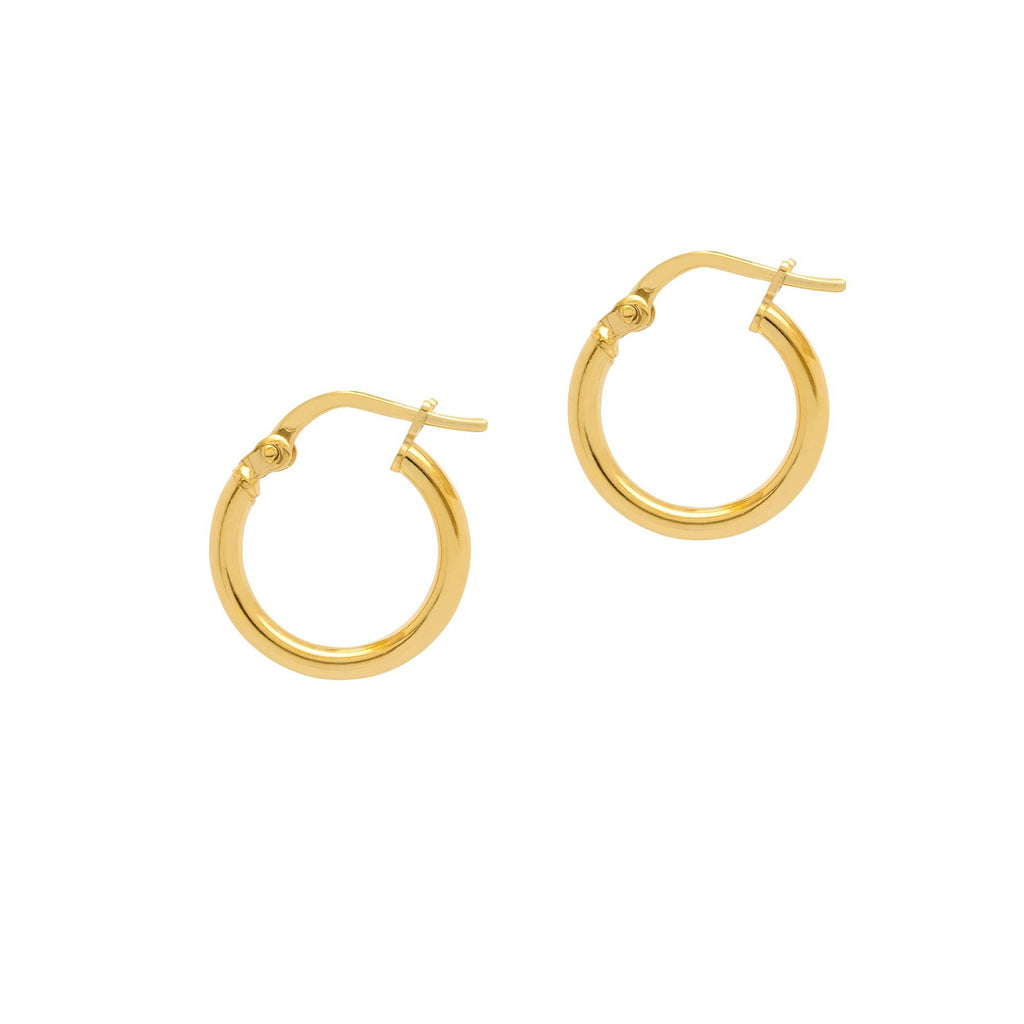 La RIMINI Huggies - Gold - Georgiana Scott Jewellery