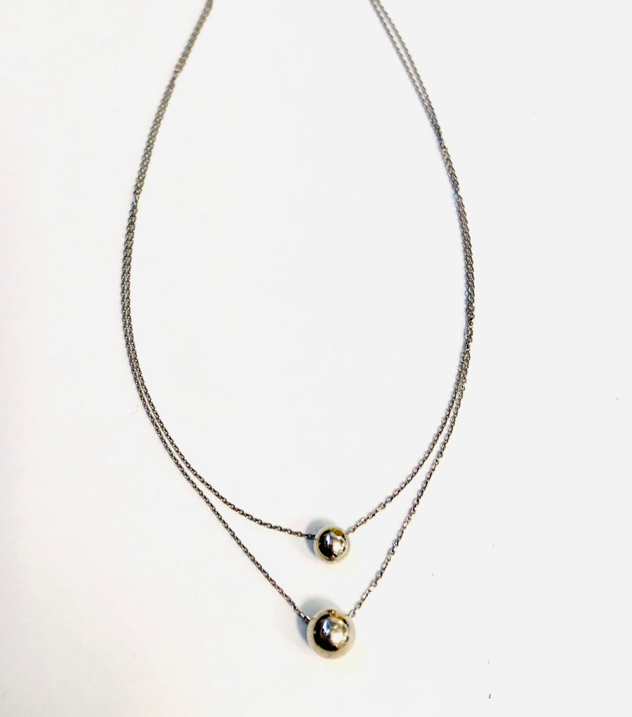 La Duo BALLONE Necklace- SALE