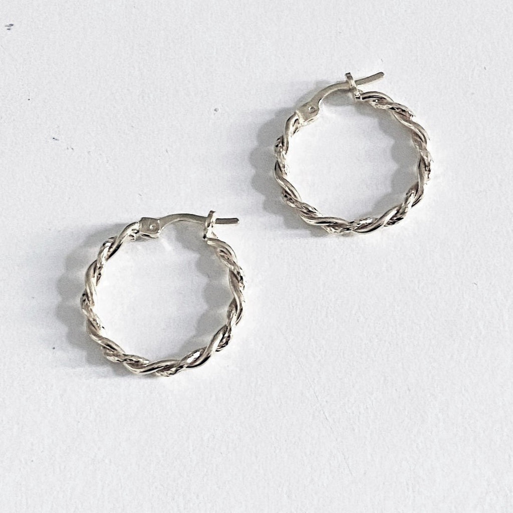 La MINI TWISTS - Silver - Georgiana Scott Jewellery