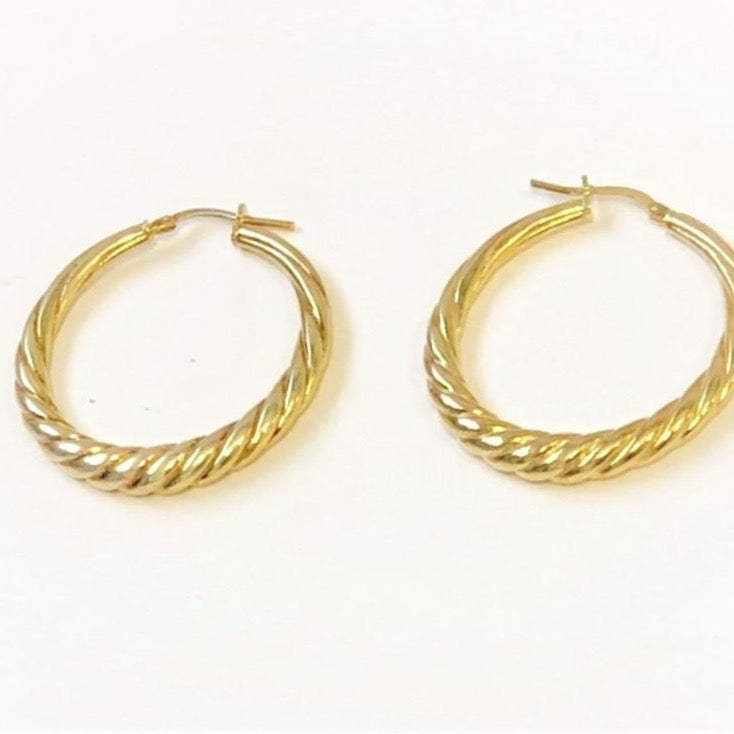 La TWIST Hoops Gold