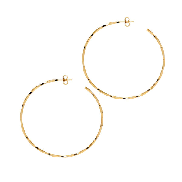 La LAGO di COMO Hoops Gold - Medium