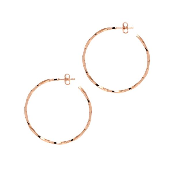 La LAGO di COMO Hoops Gold - Georgiana Scott Jewellery