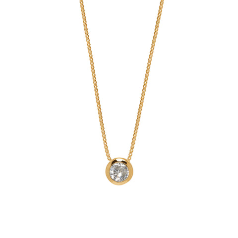 La DIAMANTE DISCO Necklace