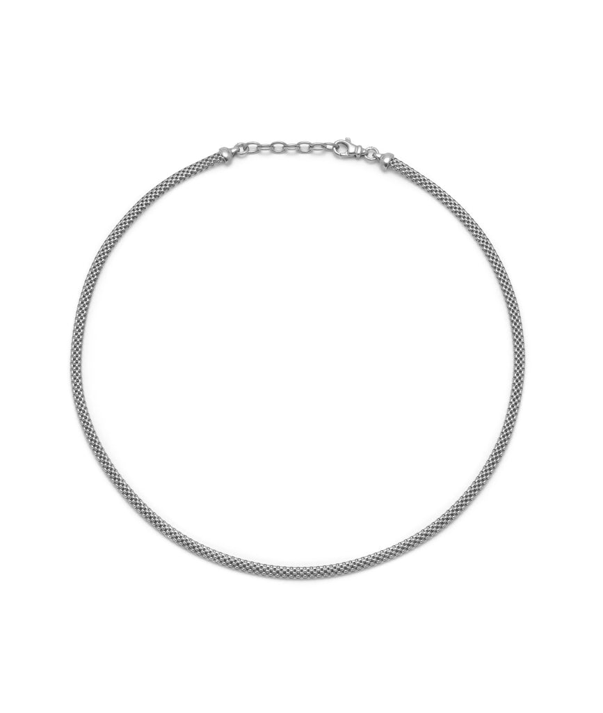 La FIESOLE Necklace - Silver - Georgiana Scott Jewellery