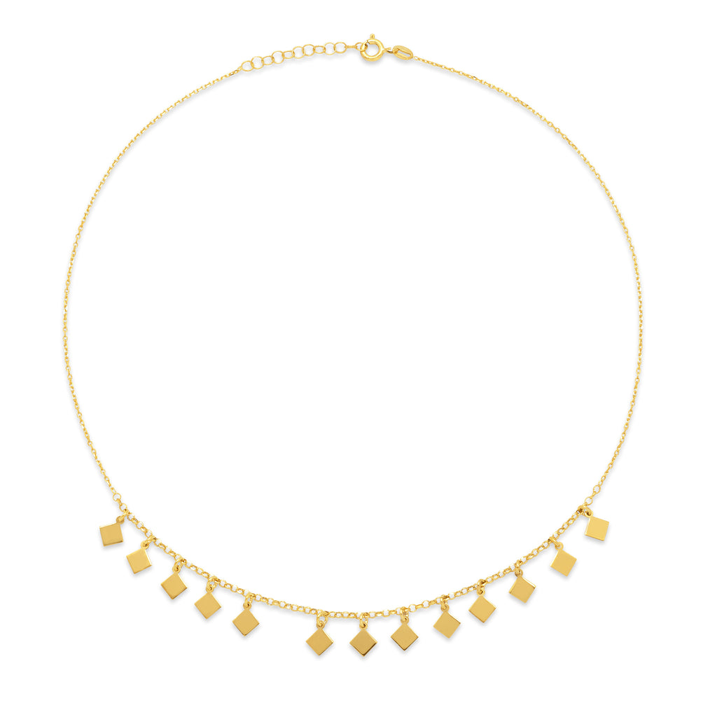 La SQUARE CHARM Necklace - SALE - Georgiana Scott Jewellery