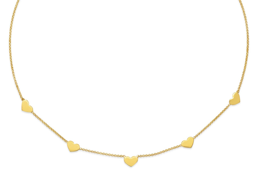 La CUORE Necklace - Gold