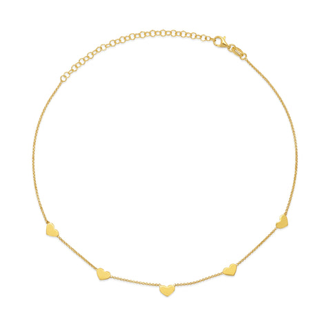 La CUORE Necklace Gold