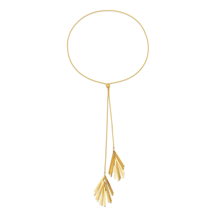 La DOPPIA TASSLE Necklace - SALE - Georgiana Scott Jewellery