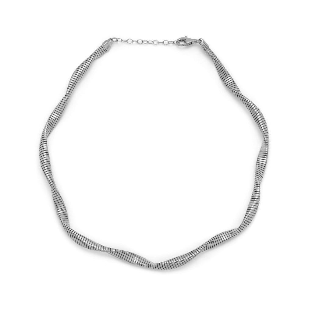 La SWIRL TWIST Choker - Sale - Georgiana Scott Jewellery