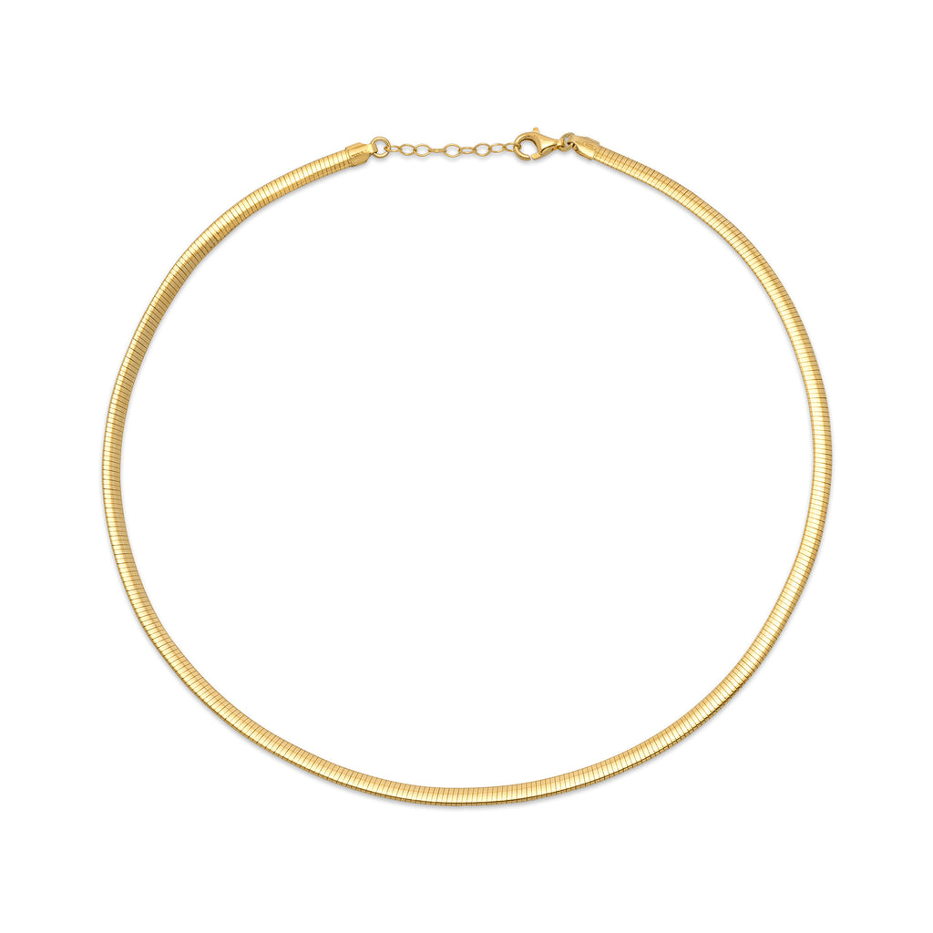 La LINEA Choker - Gold - Georgiana Scott Jewellery