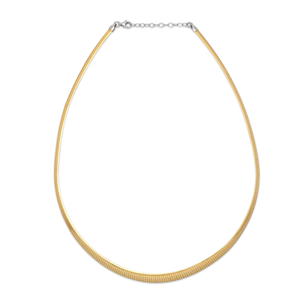 La GRADUATA REVERSO FLAT Necklace - Gold - Georgiana Scott Jewellery