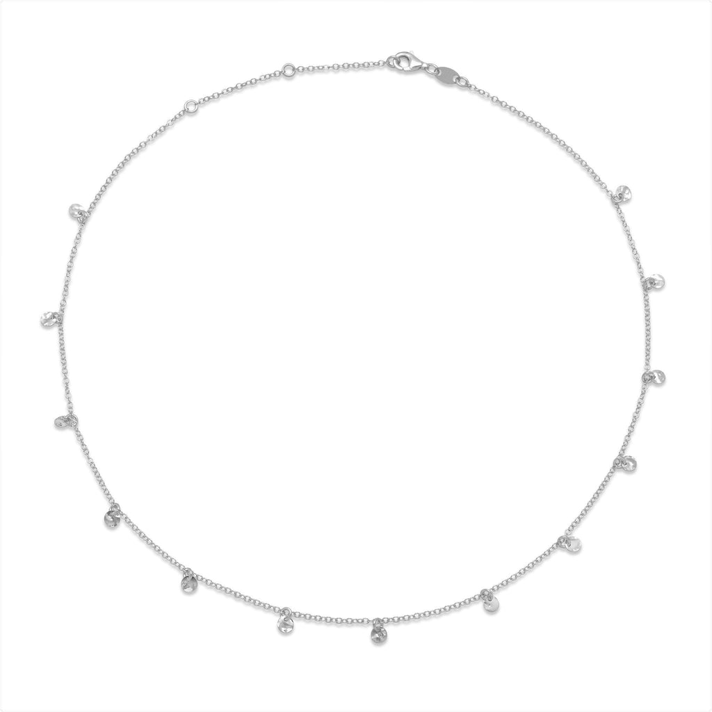 La DISC CHARM Necklace - Silver - Georgiana Scott Jewellery