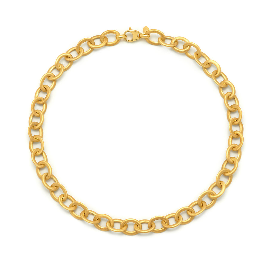 La SATINA LINKS Necklace - Gold