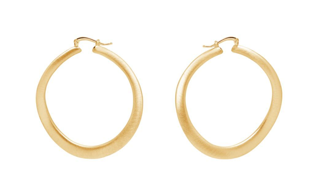 La SATINA WAVE REVERSO Hoops