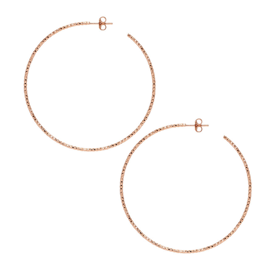 La SARDEGNA Hoops Silver - Georgiana Scott Jewellery
