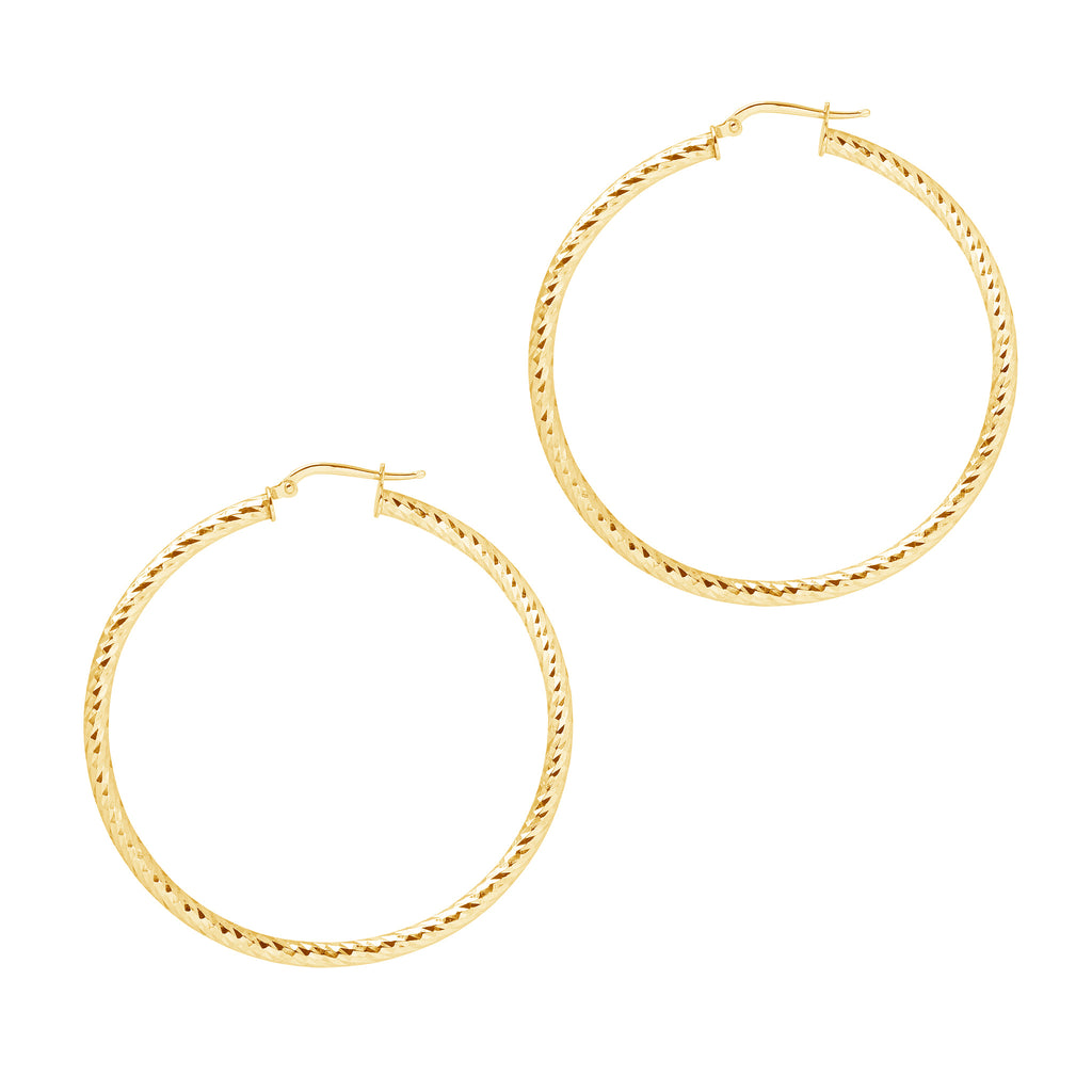 La DIAMANTE TWISTS - Gold - Georgiana Scott Jewellery