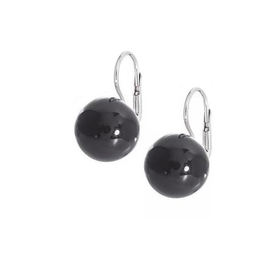 La PISA Drop Onyx Earrings