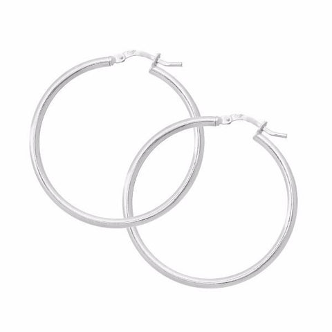 La CAMPANIA Hoops - Gold or Silver