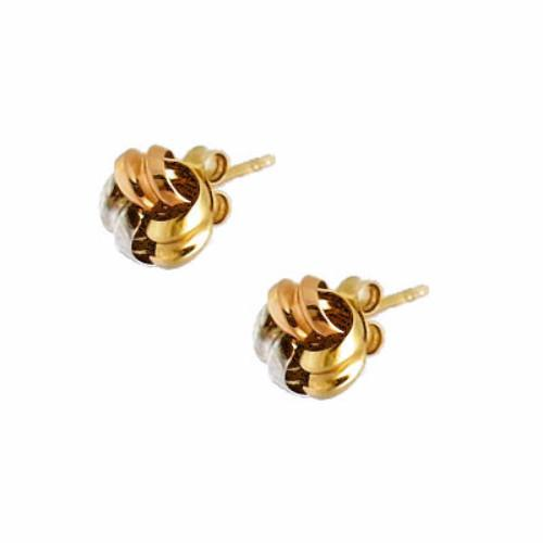 La TRICOLORE KNOTS - 18ct gold