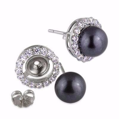 La PAOLA (DETACHABLE) Pearl Earrings