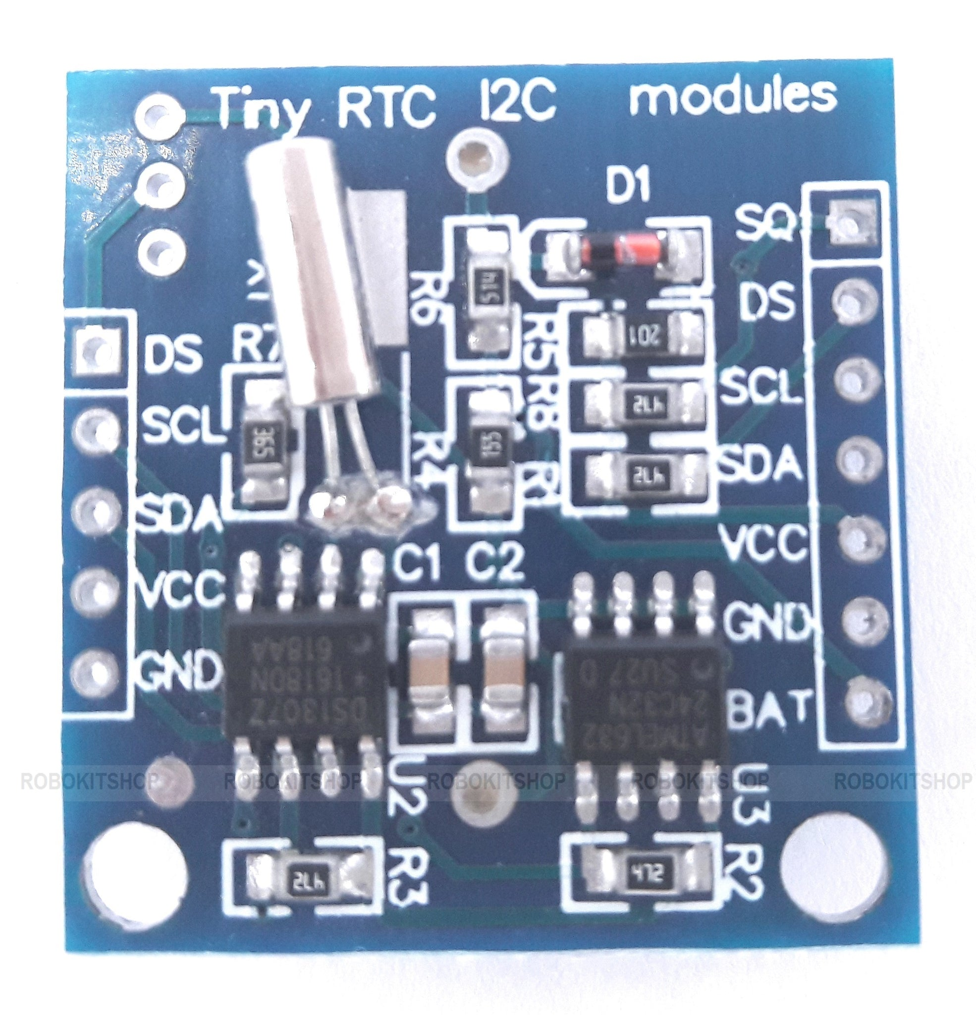 RTC I2C DS1307 AT24C32 Real Time Clock Module With CR2032 3V Cell