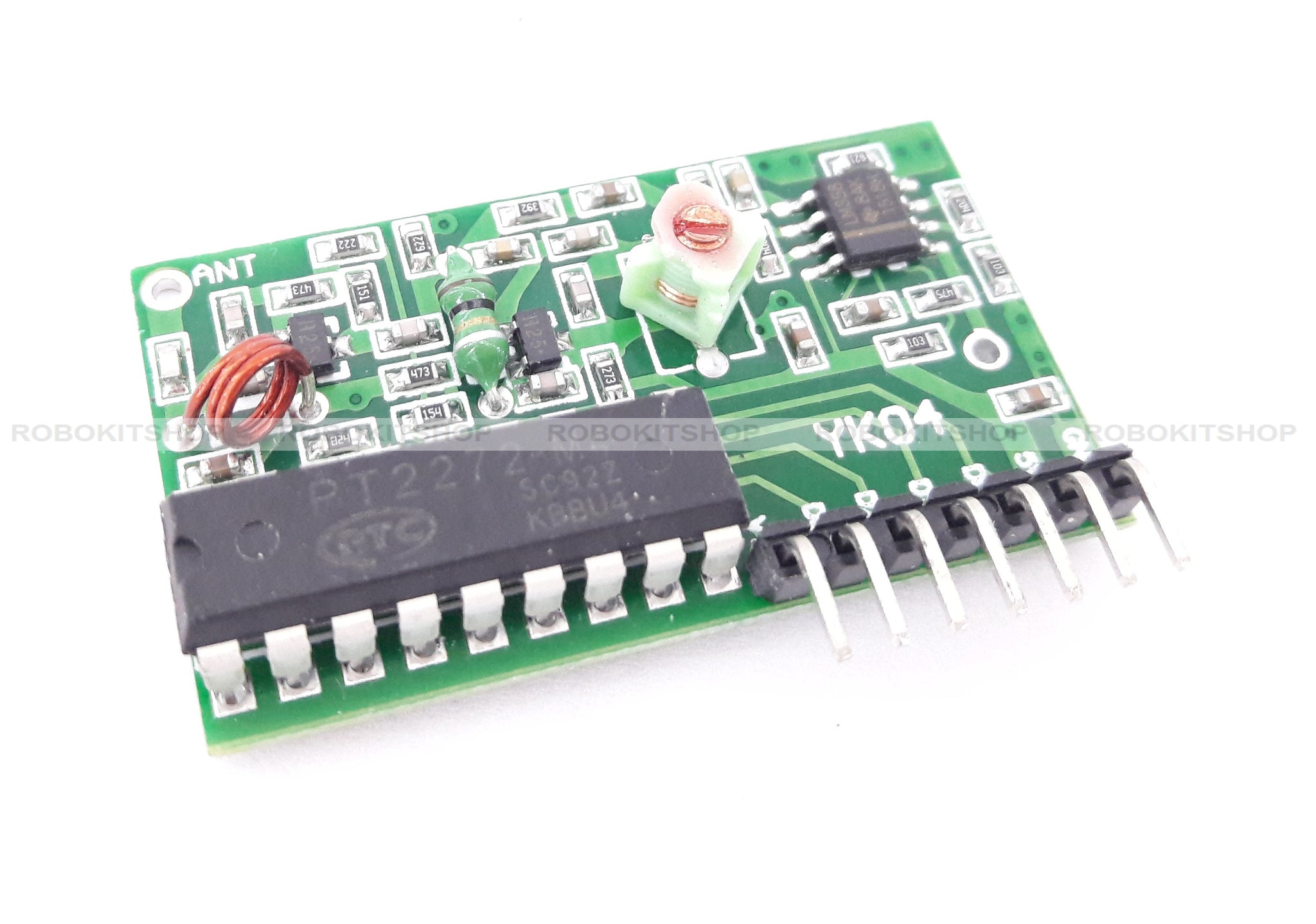Ic 2262 2272 4 Channel Wireless Rf 315mhz Remote Control Transmitter And Receiver Circuit