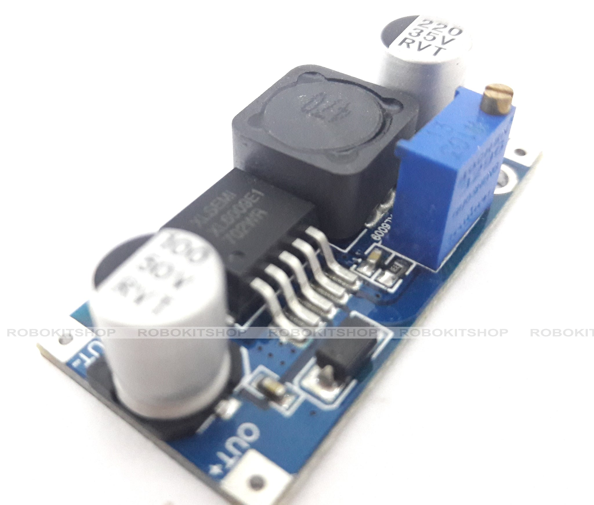 Xl6009 Dc Adjustable Step Up Boost Power Converter Module Better To 4a Than Lm2577