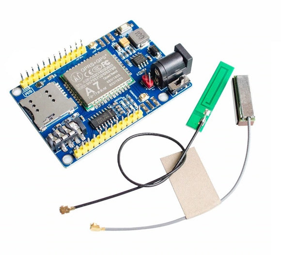 AI A7 GPS GPRS GSM Module SMS Voice Development Minimum System