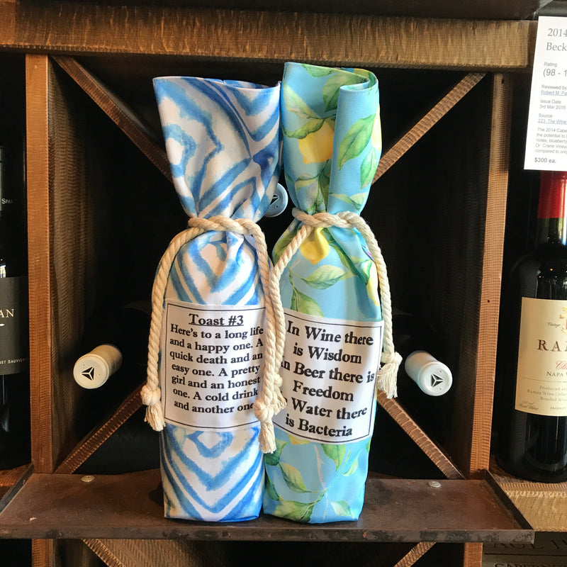 WISDOM & BACTERIA BOTTLE BAG