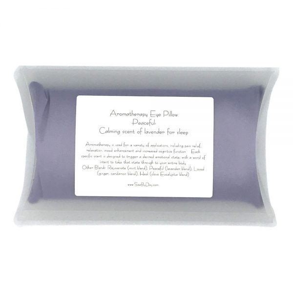 PEACEFUL AROMATHERAPY EYE PILLOW