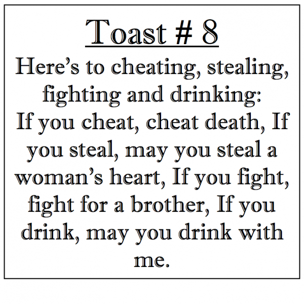 HERE'S TO CHEATING