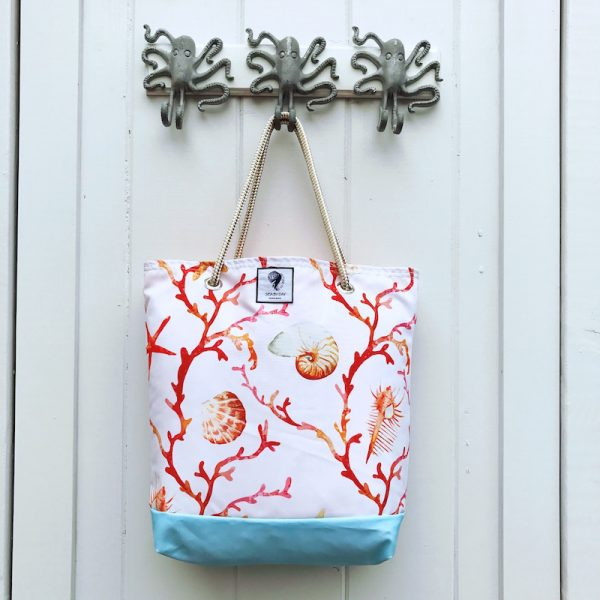 CORAL FOREST BUCKET BAG