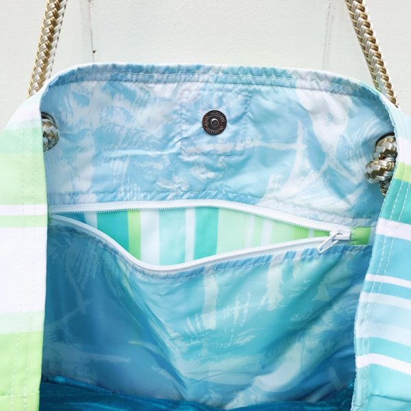 GREEN TO THE EXTREME CLASSIC BEACH BAG