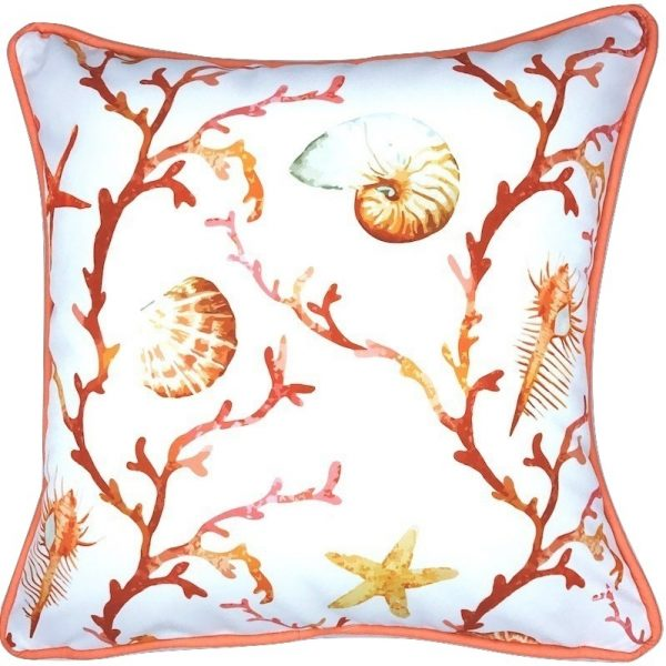 CORAL FOREST INDOOR/OUTDOOR PILLOW
