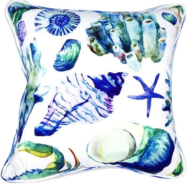 SEA FIND INDOOR/OUTDOOR PILLOW