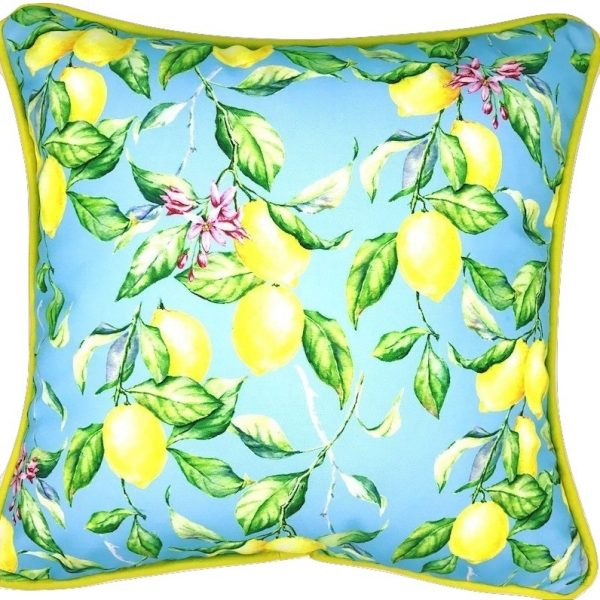 SKY HIGH LEMONS INDOOR/OUTDOOR PILLOW