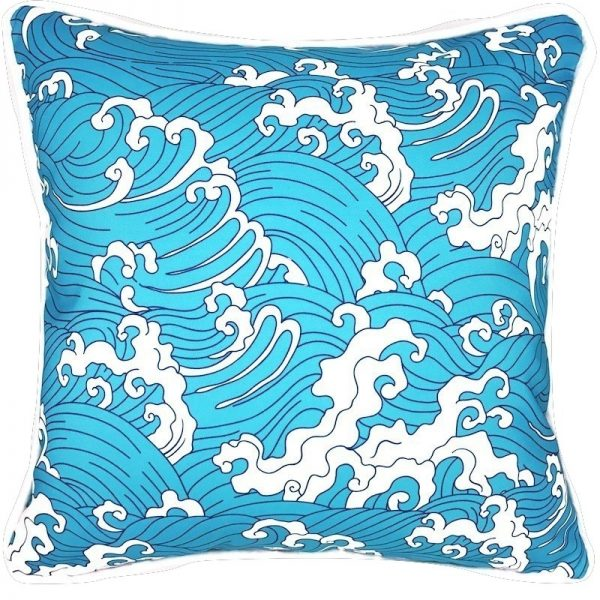 WAIT AND SEA INDOOR/OUTDOOR PILLOW
