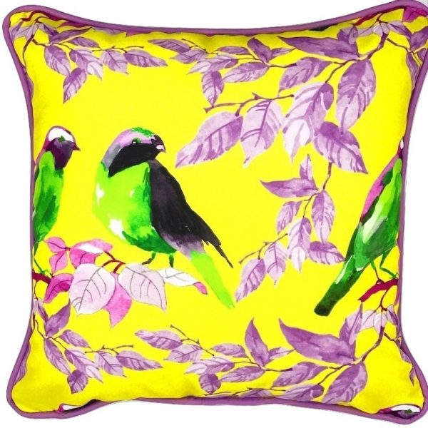 MORNING CHAT INDOOR/OUTDOOR PILLOW